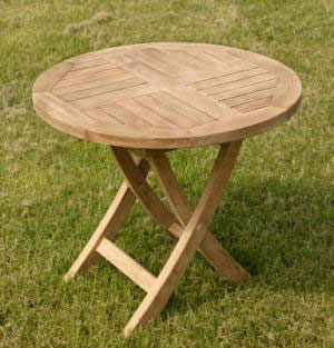 Round Folding Coffee Table