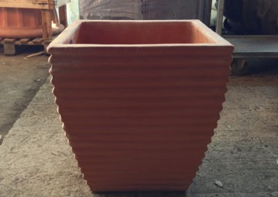 Square Terracotta Pot